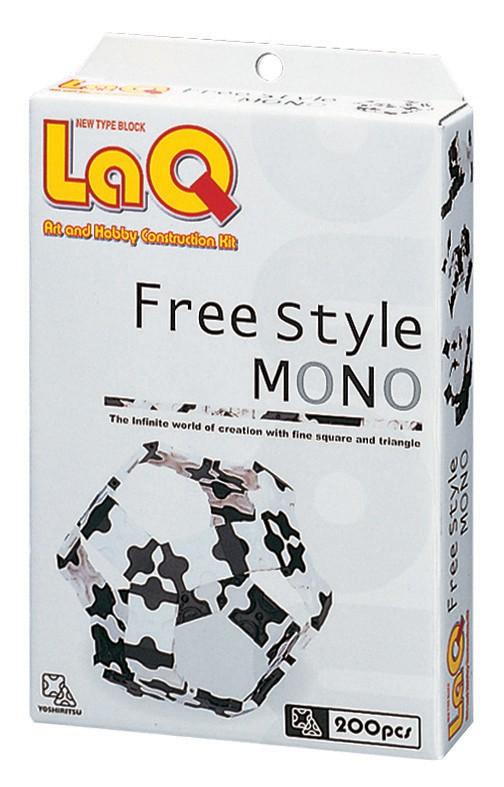 Free Style MONO 200 szt Ciekawy czarno biały zest