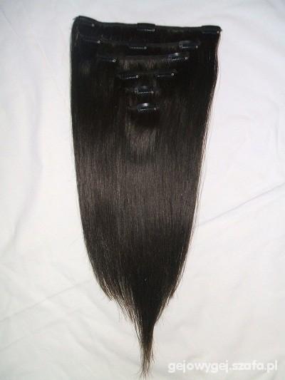 clip in włosy naturalne