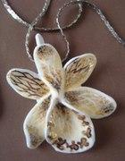 Orchidea ręcznie formowana porcelana 3...
