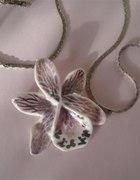 Orchidea ręcznie formowana porcelana 4...