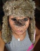 bardzo ciepła czapka uszatka