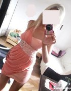 Sukienka na jedno ramie