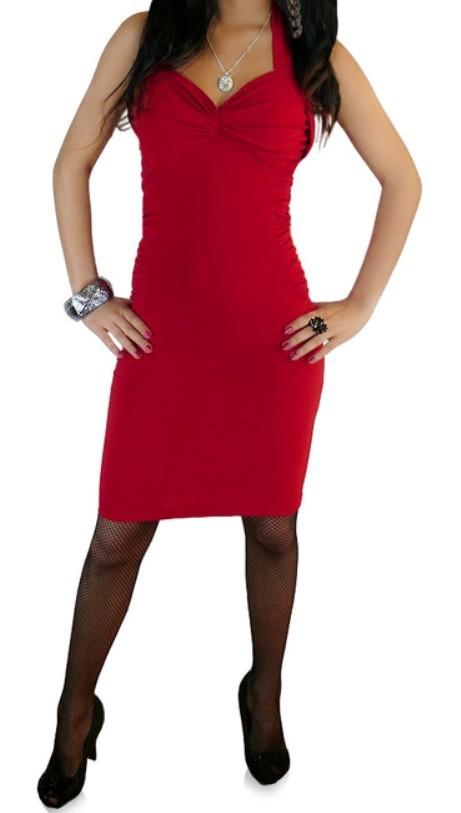 SALE Zmysłowa Sukienka Czerwona 40
