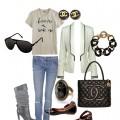 Elegancki zestaw Chanel