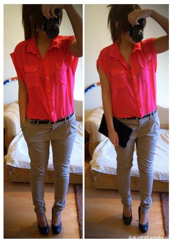 Koszula OVERSIZE różowa