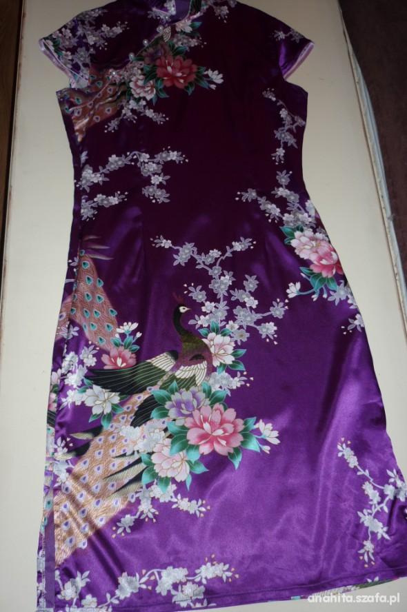 Suknie i sukienki piekna sukienka chinka