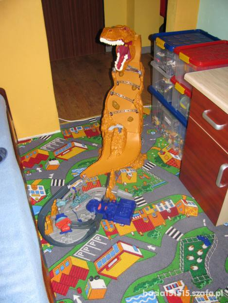 Zabawki Dinozaur hot wheels