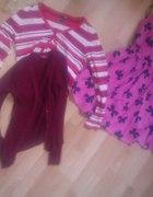 2 sweterki i sukienka atmosphere...