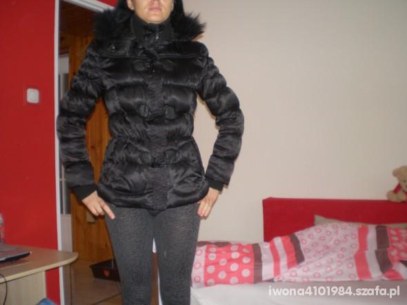 czarna kurtka