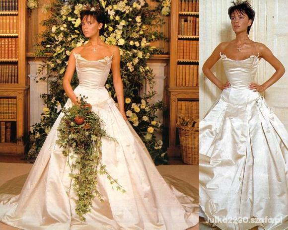 Eleganckie Suknia ślubna