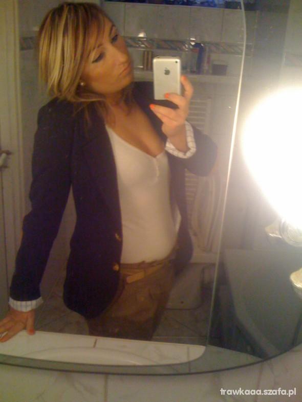 Eleganckie marynarka i spodnie