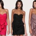 Sukienka ASOS malinowa