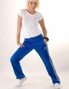 Spodnie Adidas firebird niebieskie rozmiar S