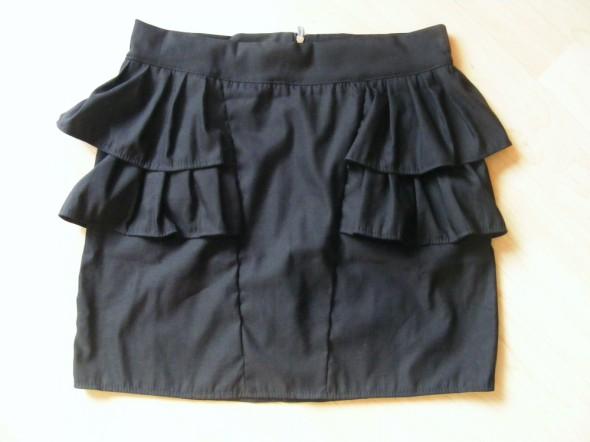 spódnica z falbankami 36 czarna