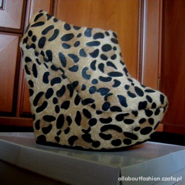 SLK3 Cheetah panterkowe koturny
