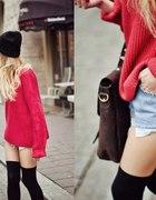 Śliczny czerwony