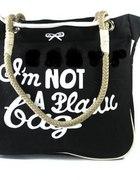 ANYA HINDMARCH Im not a plastic bag czarna