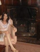 BENETTON jedwabna sukienka na bal jedwab koronki...
