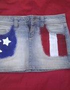 spodnica flaga...