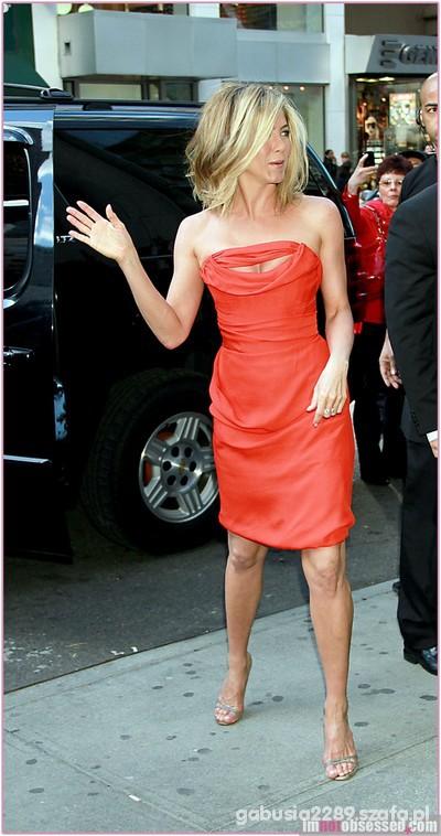 Wieczorowe Jennifer Aniston