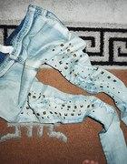 TREGGINSY jasny jeans CWIEKI CUDA