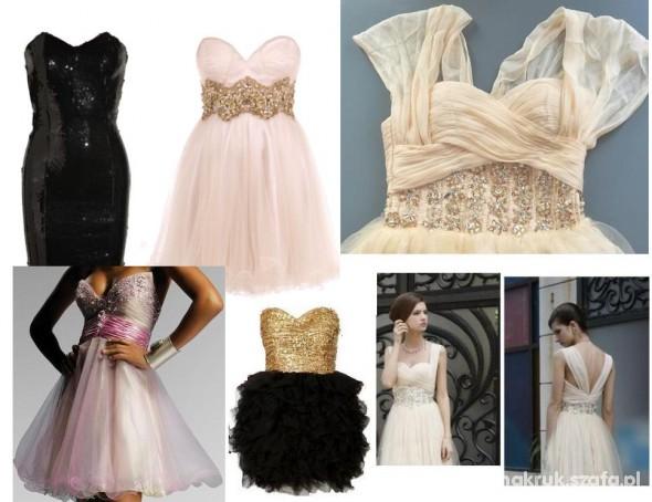 Wieczorowe sukienki