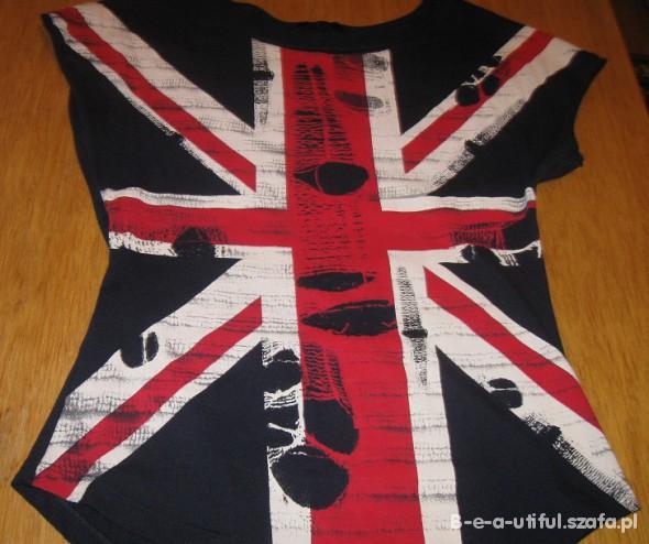 MUST HAVE koszulka z flaga Wielka Brytania UK
