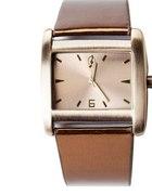 Zegarek złoty STRADIVARIUS