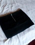 Bandażowa spódniczka mini ZIP