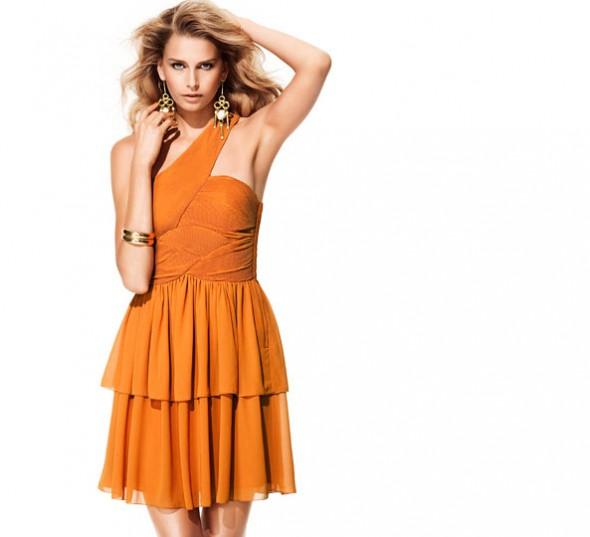 Na specjalne okazje Pomarańczowa H&M