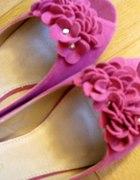 baleriny 39 fuksja różowe
