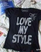 koszulka z napisem...