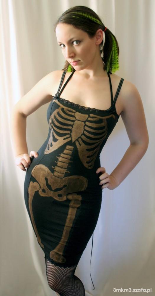 Sukienka szkielet