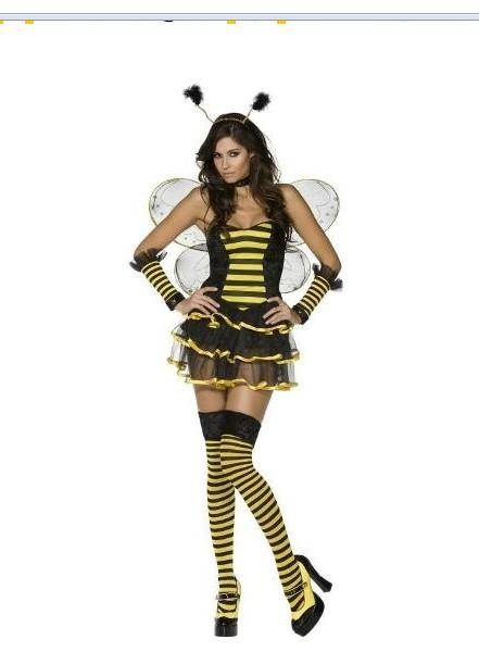 Imprezowe imprezowe przebranie na karnawal pszczolka