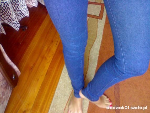 jeansowe treginsy