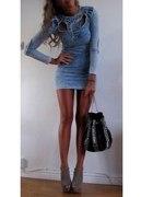 Sukienka jeansowa H&M