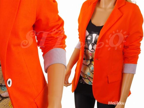 Marynarka pomarańczowa...