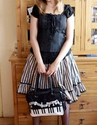 Czarna classic lolita