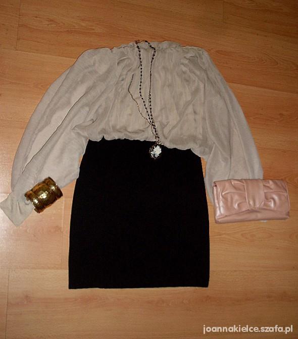 Eleganckie Sukienka podkreślająca talię