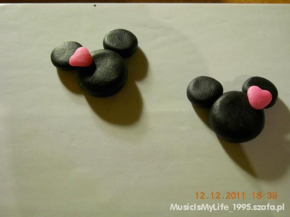 Kolczyki Myszka Micky