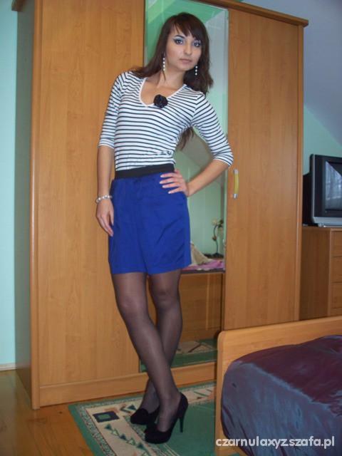 Mój styl Marynarski styl Modny nawet w zimie