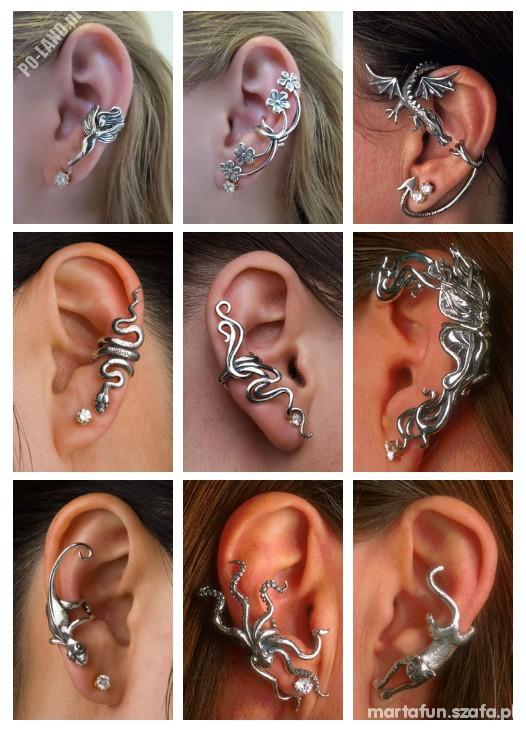 Poszukiwane kolczyki na całe ucho