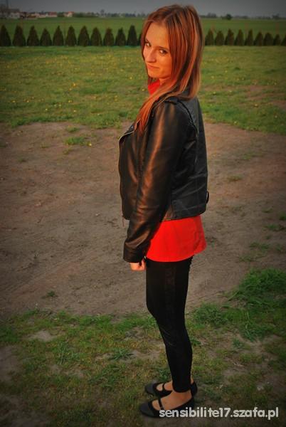 Mój styl Czerwona koszula