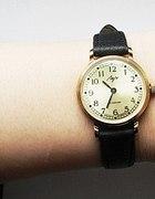 Zegarek mechaniczny vintage stare złoto