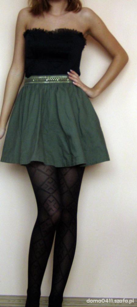 Mój styl gorset rokloszowana spódnica