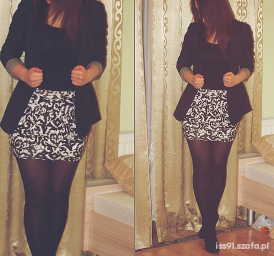 Eleganckie spódnica i blazer