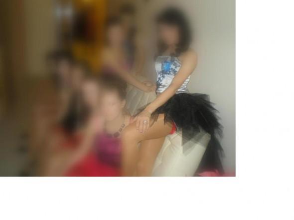 Eleganckie Sukienka z ogonem tiul