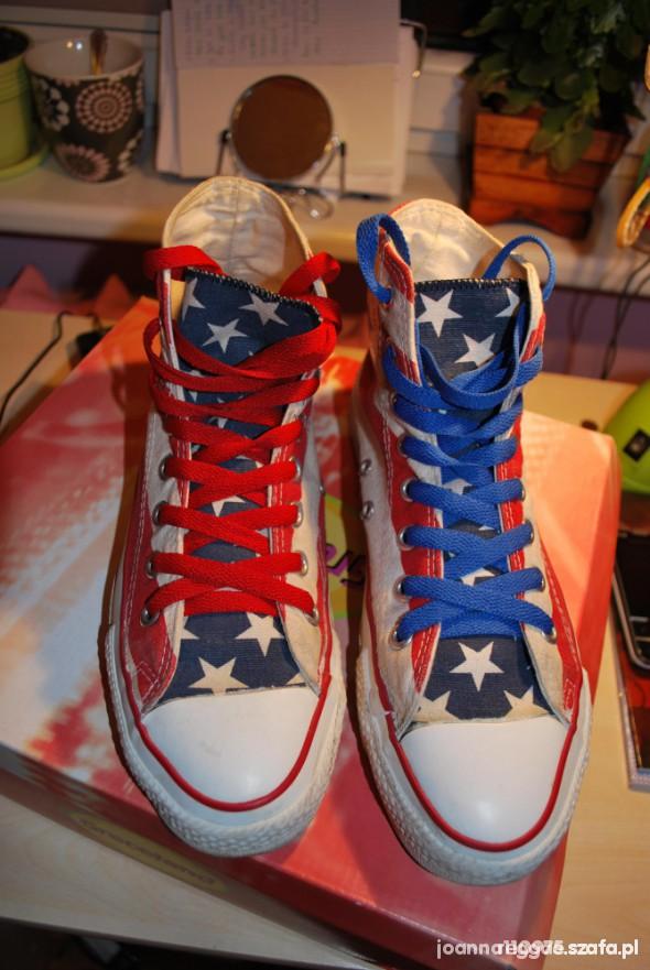 Converse flaga USA