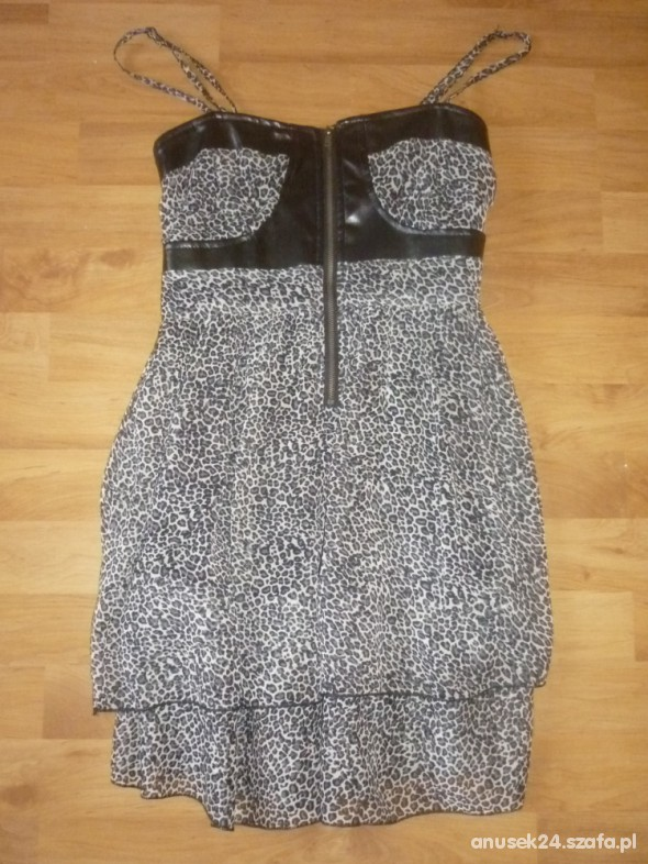 Sukienka tunika śliczna