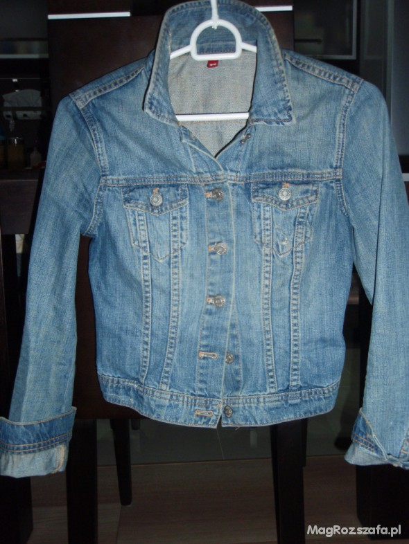 kurtka katana jeansowa h&m 36 upolowana
